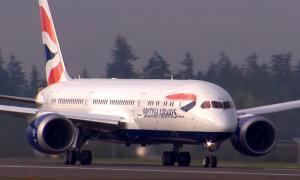BA Boeing timelapse