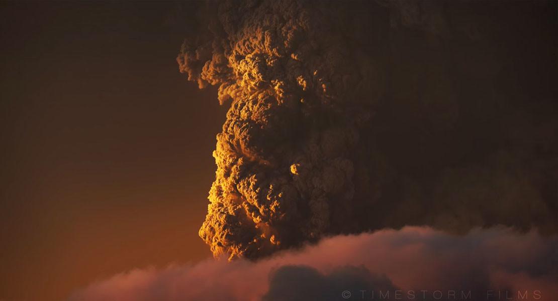 CALBUCO volcano timelapse 02