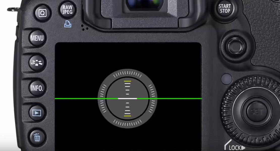 Canon 7D Messa Bolla LCD