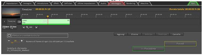 TLTools e la timeline di montaggio video