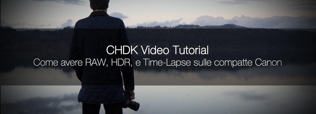 Come modificare la tua fotocamera Canon utilizzando il CHDK?