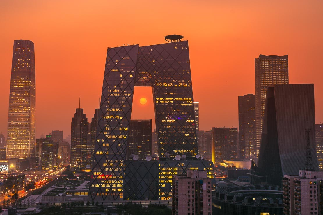 CBD Sunset-Beijing - Rob Whitworth Interview on Time Lapse Italia