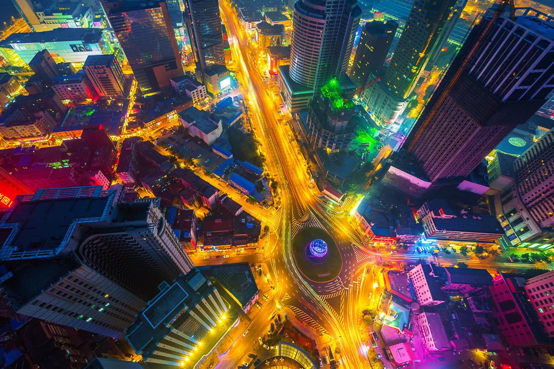 Friendship Square-Dalian - Rob Whitworth Interview on Time Lapse Italia