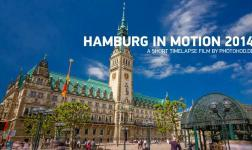 Visita Amburgo nuova e vecchia alla velocità della luce