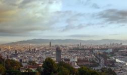 480GB di dati per un hyperlapse di 5′ su Barcellona