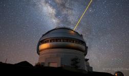 Direttamente dall'osservatorio astronomico di Mauna Kea, Hawaii