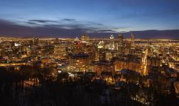 Montreal d'Inverno, in un clima quasi fiabesco