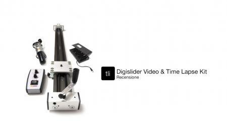 TLI Recensione - Digislider Video and Timelapse