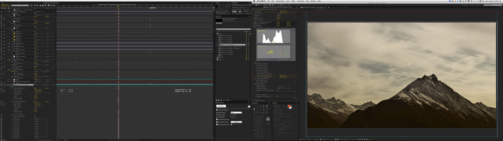 TLI Workshop Saint Nicolas Post backstage 12 After Effects Workshop Timelapse 2011, il video finale del docente