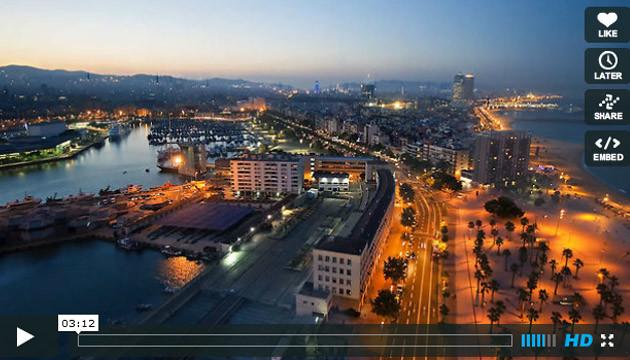 La magnifica Barcelona, in tutto il suo splendore