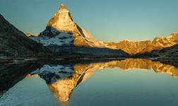 Cervino, il picco svizzero