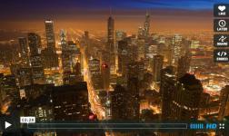 Tra la città e la natura, un time lapse davvero professionale