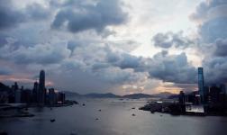 Ritratto della frenetica Hong Kong
