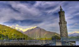 Quando sboccia la primavera nella Valtellina il mondo si colora