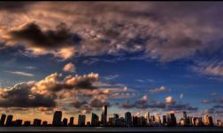 Ritratto di Miami in HDR time-lapse