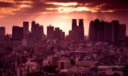Tokyo dall'alto, e con Vangelis di fondo: stupenda!