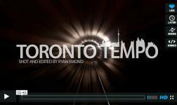 Un giro per la città di Toronto, in time-lapse