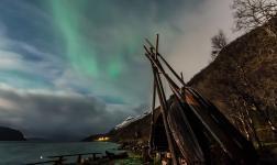 Nel cielo della Norvegia una danza di colori