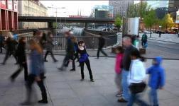 Danzare per strada a Berlino