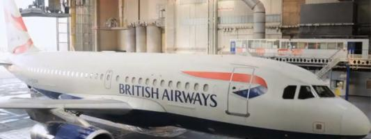 BA Great Britons – 'The Dove' aircraft time-lapse