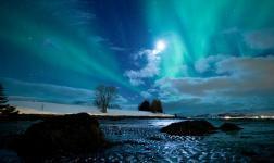 Freddi movimenti sopra il Circolo Polare Artico