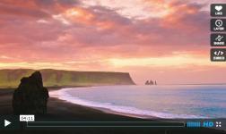 Il sole di mezzanotte in Islanda