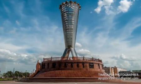 TLI ottimo hyperlapse Kazakhstan