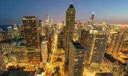 Chicago dall'alto dei suoi grattacieli