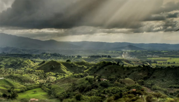 Avevi mai visto la Colombia in time-lapse HDR?