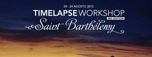 Workshop time-lapse: Agosto 2012 a Saint Barthélemy