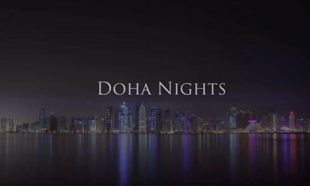 doha nights 2k samim timelapse
