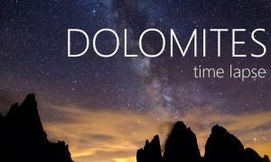 dolomites timelapse