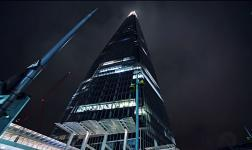 The Shard, l'edificio più alto d'Europa.. in time-lapse